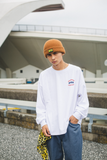 【9/6(日)21:00-受注販売 】 9090×CMT×APARTMENT hamburger&rat long T(ホワイト)【original】