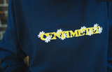 [11/07(土)21:00-]centimeter flower sweat(ネイビー)【original】