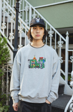 [11/22(日)21:00-受注販売] centimeter × haight × cleofus sweat(グレー)【original】