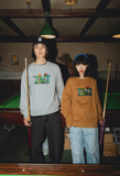 [11/22(日)21:00-受注販売] centimeter × haight × cleofus sweat(うすめブラウン)【original】