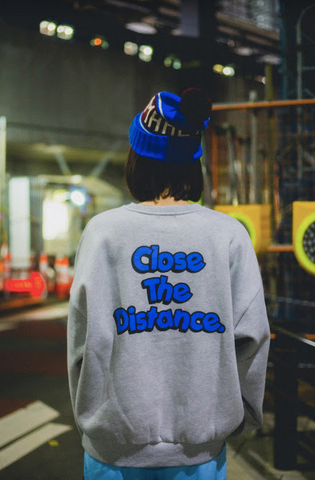 [1/23(土)21:00-]Close the Distance sweat(グレー)【original】