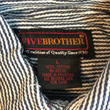 【Dead stock】Five Brother Shirt【used】