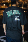【7/18 21:00- 受注生産】NOT SICK JUST BLUES Tee(スミ)【original】