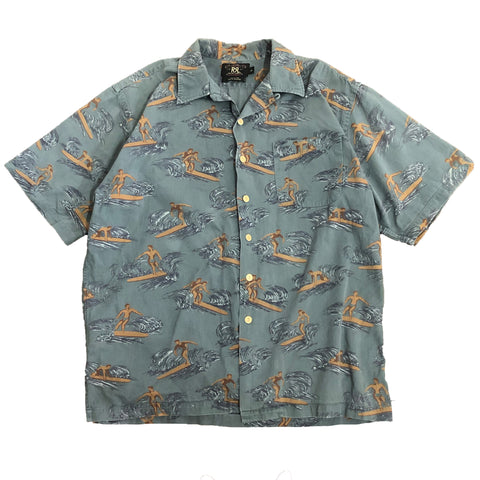 RRL Ralph Lauren Hawaiian Shirt【used】