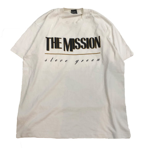 【90s】 the mission Tee【used】