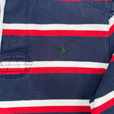 POLO border rugger shirts【used】