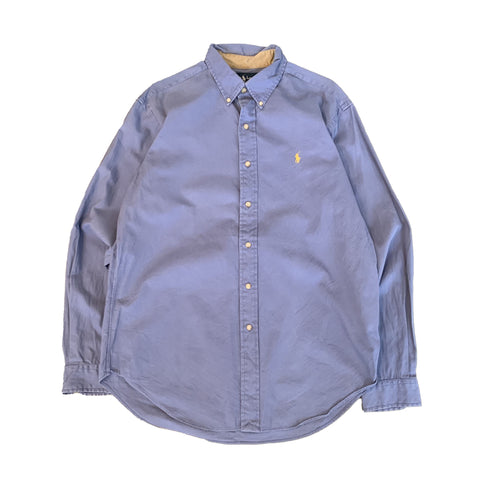 RALPH LAUREN Light Blue Shirt【used】