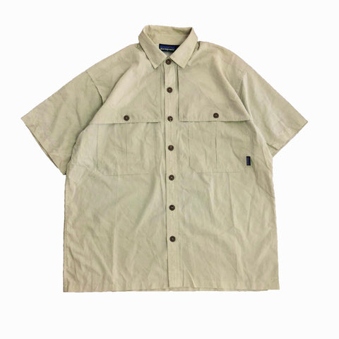 Patagonia Back Step Shirt(Light Green)【used】