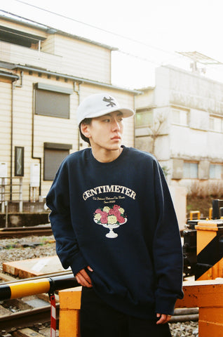 [2/27(土)21:00-]centimeter bouquet sweat (ネイビー)