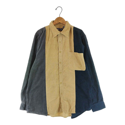 crazy coduroy shirt【used】