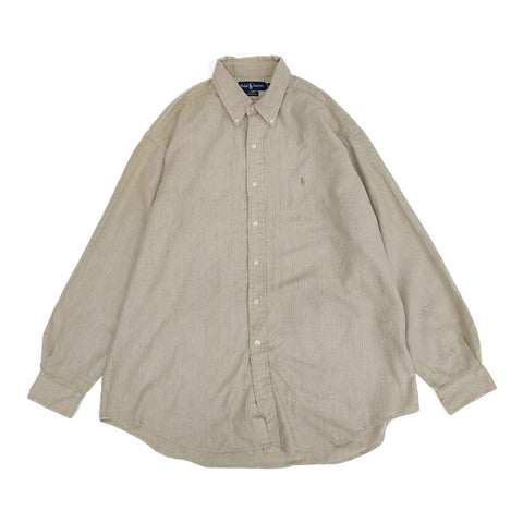 Ralph Lauren beije shirt【used】