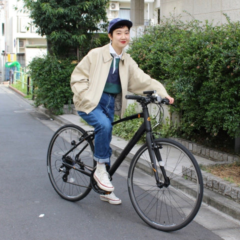 J PRESS beige short blouson【used】