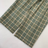 Check Dark Green slacks【used】