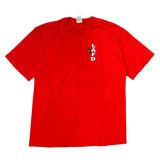 Fruit of the loom red T【used】