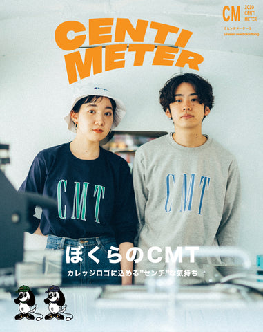 [4/18 21:00販売]CMT logo long-tee【original】