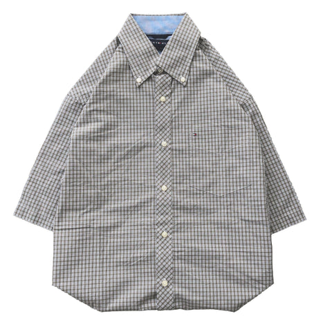 Tommy check work shirts【used】