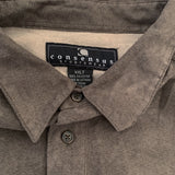 CONSENSUS Light Brown  Suede Shirt【used】