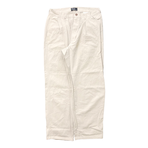 Ralph cream white pants【used】