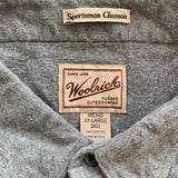 WOOLRICH Gray Big Shirt【used】