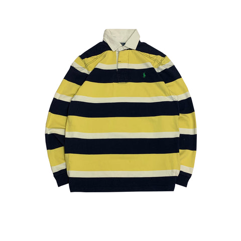 Polo by RALPH LAUREN  Yellow Rugby Shirt【used】