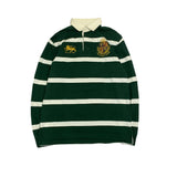 Polo by RALPH LAUREN  Green Rugby Shirt【used】