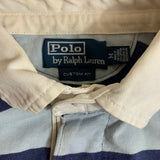 Polo by RALPH LAUREN  Blue Rugby Shirt【used】