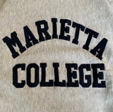 MARIETTA College Rib Sweat 【used】