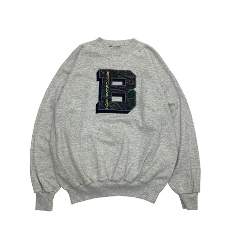 BRECKENRIDGE Gray Sweat【used】