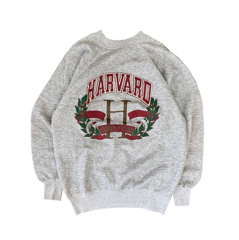 HARVARD College Logo Sweat【used】