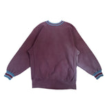champion deep red reverse weave sweat【used】