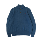 Polo by RALPH LAUREN Blue Knit【used】