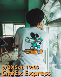 【6/21 19:00 受注販売】CmtEx Express T (ホワイト orange logo)【original】