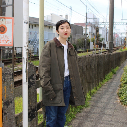OLD NAVY corduroy neck jacket【used】