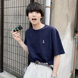 【6/2 19:00 再再販】ruler-kun green patch tee【original】