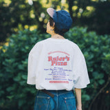 【5/31 19:00 数量限定販売】CMT×9090 Ruler's Pizza Tee【original】