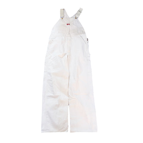 Dickies White Denim Overall【used】
