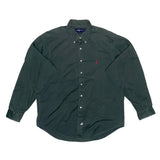 POLO green B.D.shirts【used】