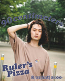 【8/23 21:00 受注販売】CMT Original Ruler's Pizza Tee(くすみベージュ)【original】