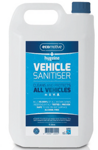Hygiene PRO VEHICLE SANITISER 5 Litre