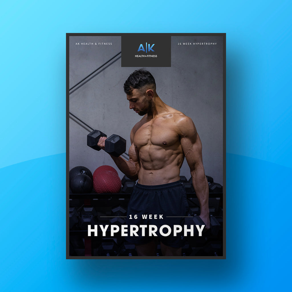 16 Week Hypertrophy Program