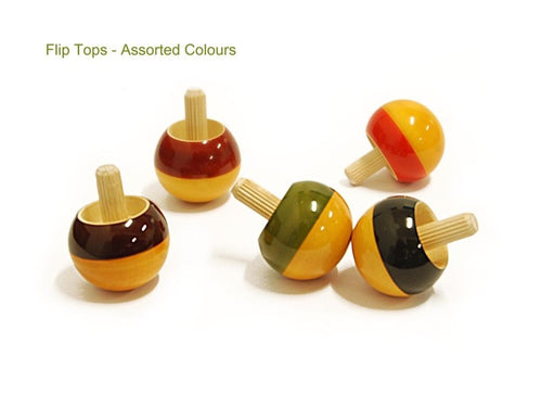 Flip Top 5 Pcs  - Wooden Toy - Age 5+