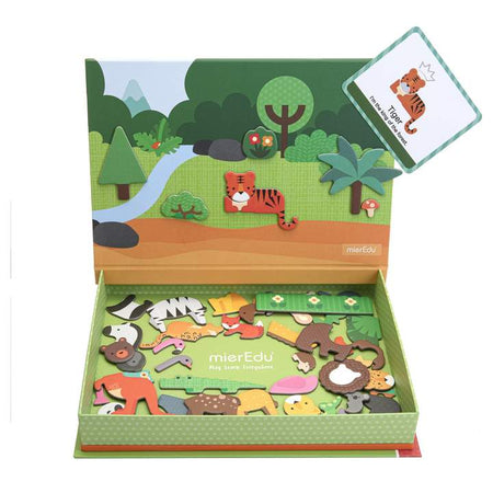 Magnetic Art Case - Animal World - Age 3+