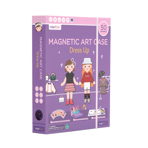 Magnetic Art Case - Dress Up - Age 3+