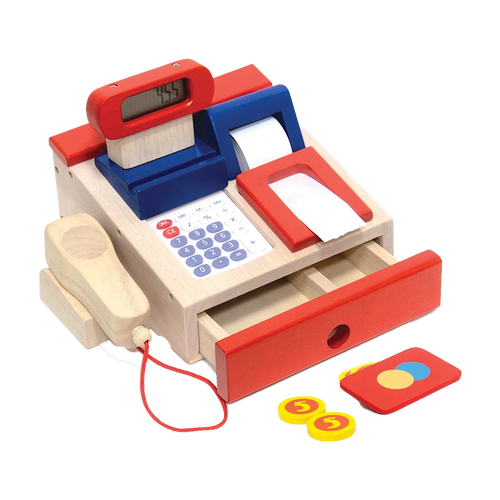 Cash Counter - Wooden Toy - Age 3+