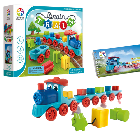 BRAIN TRAIN-Logical Game-Age 3+