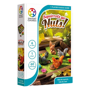 SQUIRRELS GO NUTS-Logical Games-Age 6+