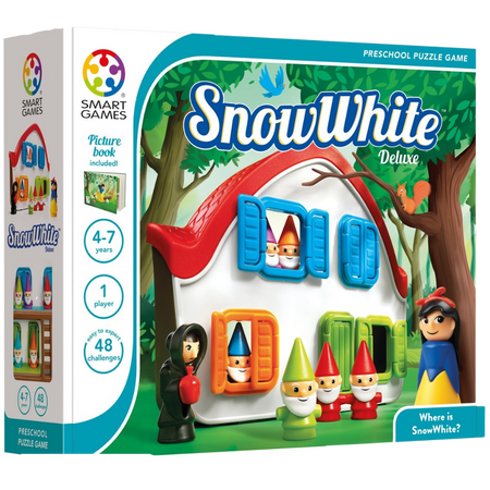 SNOW WHITE-Logical Puzzle Game For 4+