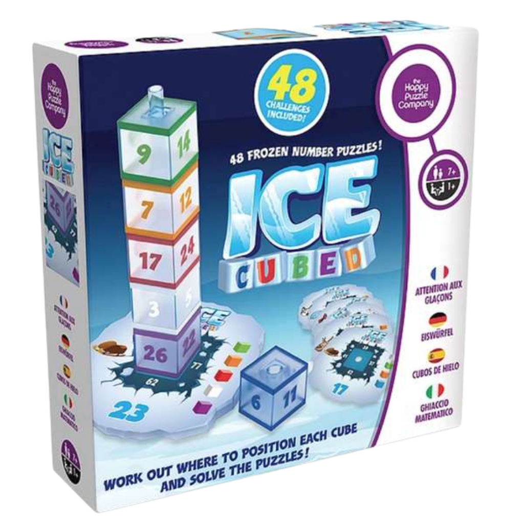 ICE CUBED-48 Frozen Number Puzzle-Age 7+