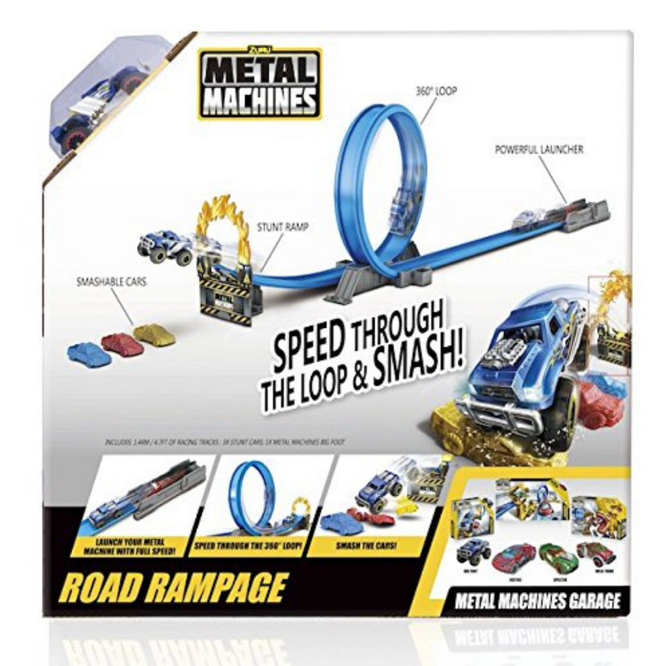 Zuru Metal Machines - Road Rampage Track Set 4 years and Up
