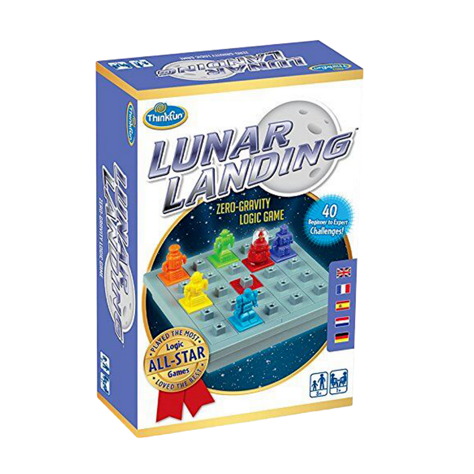 Thinkfun-Lunar Landing -Space Age Logic Puzzle-for the age 8 and up